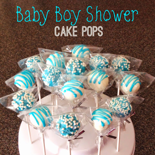 Baby Boy Shower CakePops